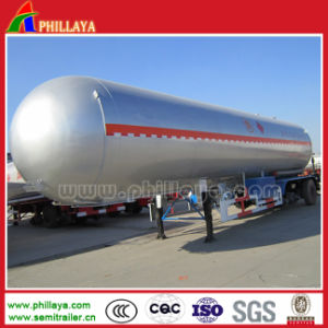 3 Axles LPG Gas Liquid Tank Body Truck Semi Tanker Truck Trailer pictures & photos
