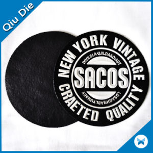 Custom Eco-Friendly Soft Embossed Raised Rubber PVC Patches pictures & photos
