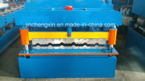 Aluminum Roof Tiles Roll Forming Making Machine pictures & photos