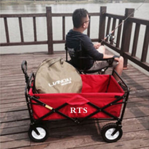 Collapsible Folding Utility Wagon Garden Cart Outdoors pictures & photos