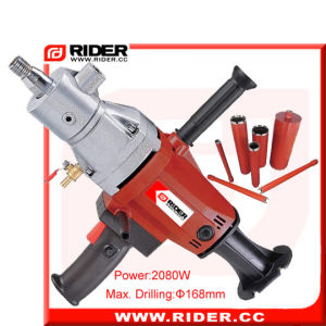 Wholesale 2080W Reinforced Concrete Diamond Core Drill pictures & photos