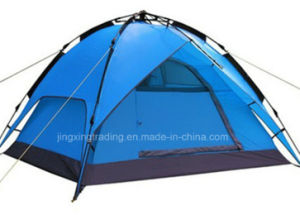 Hot Double-Skin Automatic Camping Tent for 3 - 4 Persons (JX-CT031-2) pictures & photos