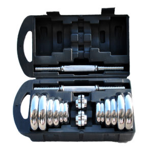 20kg Chrome Dumbell Set pictures & photos
