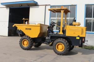 Construction Machine 4X4 5mt Fcy50 Site Dumper pictures & photos