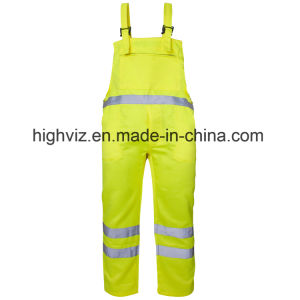 Reflective Polycotton Bib Trousers with En20471 Certificate (C2392) pictures & photos