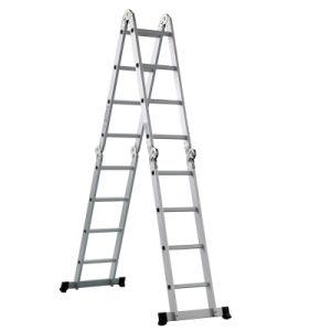 En131 Approved Folding Aluminium Ladder pictures & photos