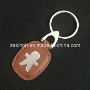 Promotional Wholesale Custom PU Leather Key Chain pictures & photos