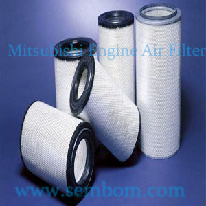 High Performance Engine Air Filter for Mitsubishi Excavator/Loader/Bulldozer pictures & photos