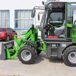 0.8t Rated Load Mini Wheel Loader with CE pictures & photos