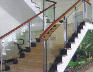 SGCC ANSI Certificate Tempered Balustrade Glass pictures & photos