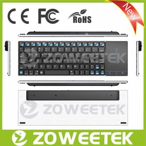 Notebook USB Keyboard with Stainless Steel for Android TV Stick pictures & photos