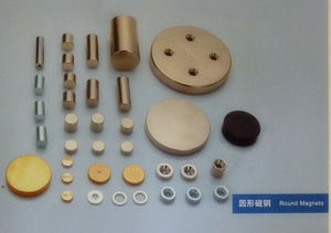 Strong Permanent Cylinder Neodymium (NdFeB) Magnet pictures & photos