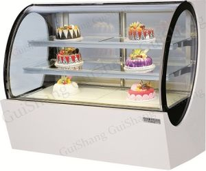 Cake Glass Display Refrigerator CE Rhos
