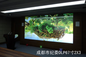 72 Inches DLP Screen Displays System