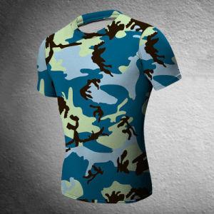 Men′s Tights Camo Sport T-Shirt Dress