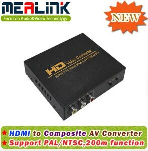 HDMI to AV Converter (Support PAL and NTSC) pictures & photos