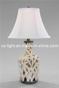 Modern Polyresin Table Lamp/Table Light for Home Decoration