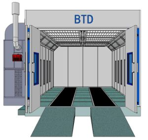 Btd 7400 Spray Car Chamber Tanning Booth Oven Cabin for Sale pictures & photos