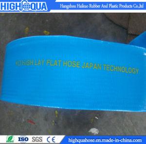 Irrigation Heavy Duty PVC Water Discharge Hose / PVC Layflat Hose pictures & photos