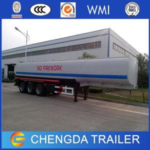 3 Axles 40000 Litres Aluminum Alloy Fuel Oil Transport Tanker Truck Trailer for Sale pictures & photos