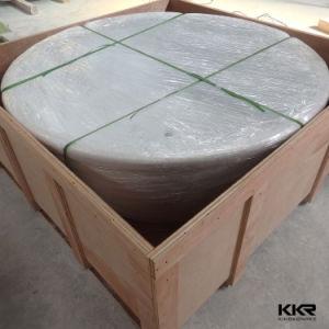 Manufacturer Bathware Round Stone Freestanding Bathtub pictures & photos