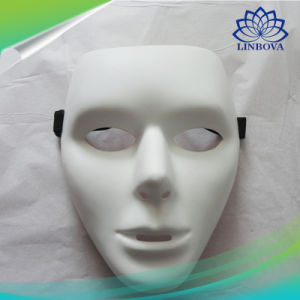 Cosplay Halloween Festival PVC White Mask Party Toys Unique Full Face Dance Costume Mask for Men Women Gifts pictures & photos