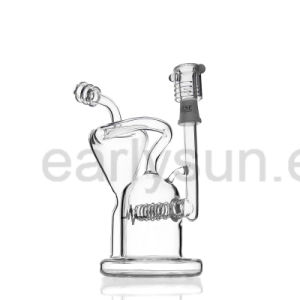 Glass Inline Perc Recycler Water Pipe for Daily Use (ES-GB-079) pictures & photos