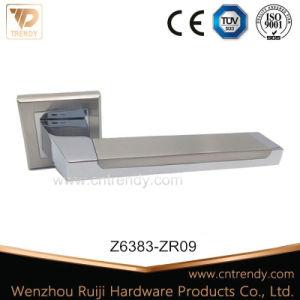 Zinc Alloy Door Lever Handle on Rose (Z6221-ZR09) pictures & photos