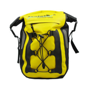 Yellow Waterproof Bicycle Bag for Travelling Bicycle Bike Pannier Bag Bike Pannier Roswheel pictures & photos