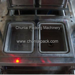 Pneumatic Plastic Tray Sealing Machine pictures & photos