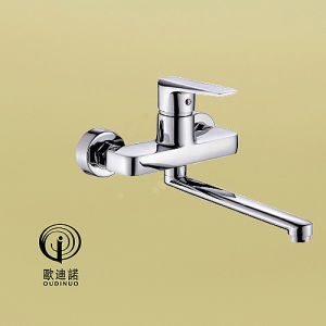 Oudinuo Single Handle Kitchen Faucet with Chrome Finishing 69719 pictures & photos