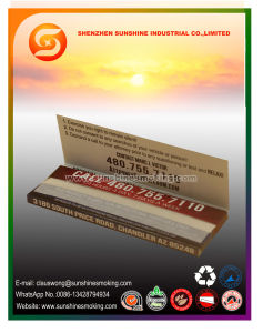 13GSM 100% Hemp Rolling Paper with 1 1/4 Size pictures & photos