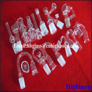 Fire Polish Taper Fused Silica Glass Tube pictures & photos