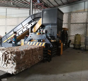 Hba80-11075 Fully Automatic Horizontal Waster Paper Baler pictures & photos