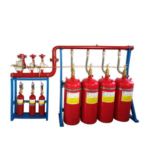 Asenware FM200 Chemical Gas Extinguishing Systems Extinguisher Cabinet pictures & photos