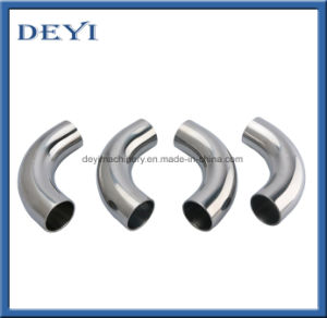 Sanitary Pipe Fittings Stainless Steel Butt-Weld Elbow pictures & photos