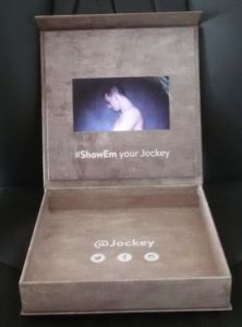 LCD Screen Video Box for Jewelry Packing pictures & photos