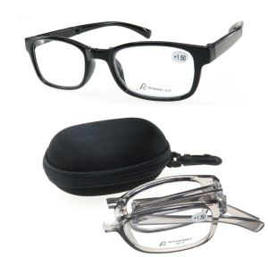 Plastic Foldable with Case Reading Glasses for Reader pictures & photos