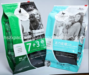 Quad Seal Pouch with Slider Zipper for Pet Food pictures & photos