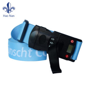 Custom Logo Printing Polyester Luggage Belt Strap pictures & photos