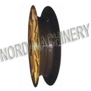 Sand Casting Guide Pulley for Docking Equipment pictures & photos