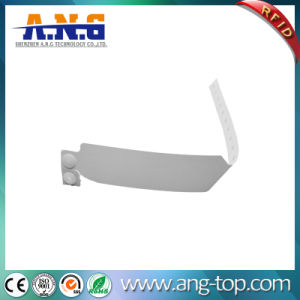 Disposible Events PP Paper RFID Bracelet Wristband pictures & photos