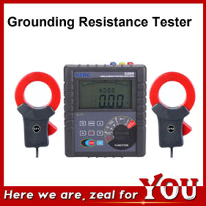 Hzrc3200 Dual-Clamp Leakage Current Digital Earth Ground Resistance Meter pictures & photos