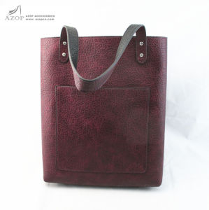 Elegant Reversible PU Tote Bag Shoulder Bag pictures & photos