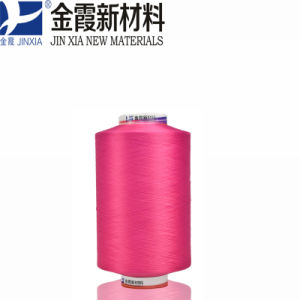 100% Polyester Filament Yarn DTY 60d/48f Dope Dyed Elastic Textured pictures & photos