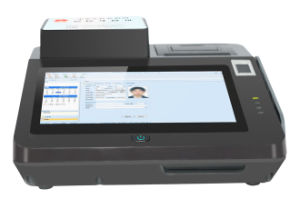 Jp762A Top Quality Desktop POS with EMV Certificate pictures & photos