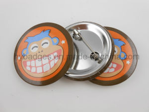 Custom Tin Badge for Promotion, Printing Logo Badge (GZHY-LP-020) pictures & photos