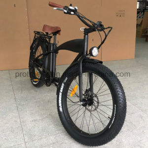 Fat Tire Electric Mountain Electric Bicycle pictures & photos