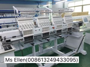 Wonyo 4 Head High Speed Embroidery Machine with Wilcom Software pictures & photos