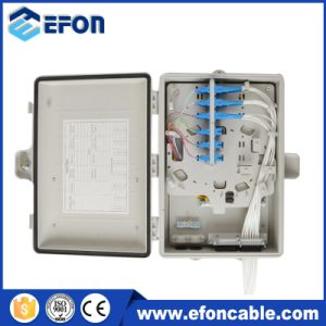 PC/ABS Material FTTH Outdoor 24fiber Terminal Box/Caja Fibra Optica 24salidas pictures & photos